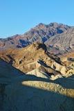 Sera in anticipo in Death Valley Fotografie Stock Libere da Diritti