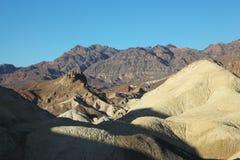 Sera in anticipo in Death Valley, gli S.U.A. Fotografia Stock