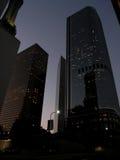 Sera in anticipo in LA. Fotografie Stock Libere da Diritti