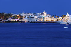 Sera a Cannes Fotografia Stock Libera da Diritti