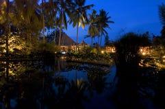 Sera del Bali fotografia stock libera da diritti