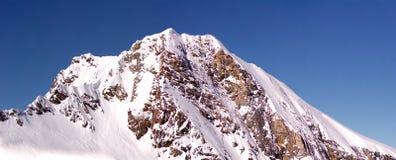 Sera del picco di alta montagna Immagine Stock Libera da Diritti