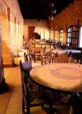 Sera del ristorante arabo Fotografia Stock