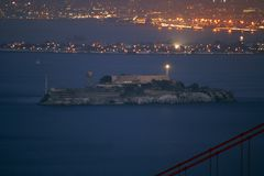 Alcatraz  Fotografia Stock