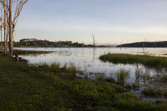 Sera Lakeside Fotografia Stock