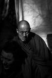 Sera Monastery Debating Monks looks hard Lhasa Tibet Royalty Free Stock Photos