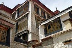 Sera Monastery in Tibet Stock Photography