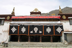 Sera Monastery in Tibet Royalty Free Stock Photo