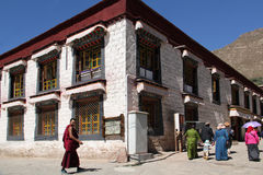 Sera Monastery, Tibet Royalty Free Stock Images