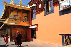 Sera Monastery, Tibet Royalty Free Stock Photo