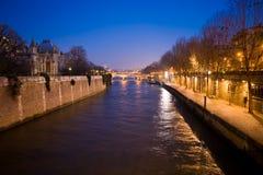 Sera Parigi 2 Fotografia Stock Libera da Diritti