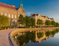 Sera piena di sole a Helsinki Fotografia Stock Libera da Diritti