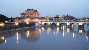Sera Roma Fotografia Stock Libera da Diritti