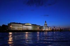 Sera San Pietroburgo, Russia Immagine Stock Libera da Diritti