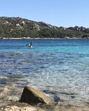 Sardinia beach royalty free stock photography