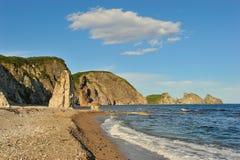 Sera sul litorale. Fotografie Stock Libere da Diritti