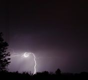 Sera tempestosa di estate Fotografia Stock Libera da Diritti
