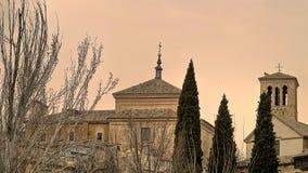 Sera a Toledo, Sapin Fotografia Stock
