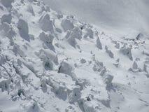 Seracs do gelo Imagem de Stock