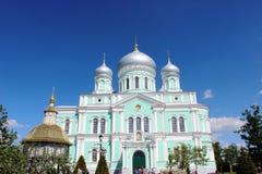 Seraf av Sarov i seraf-Diveevokloster för helig Treenighet i Diveevo, Ryssland royaltyfri foto