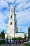 Seraf-Diveevokloster för helig Treenighet, Diveevo, Ryssland fotografering för bildbyråer
