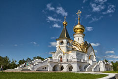 Serafia Sarovsky& x27; s-tempel Arkivfoton