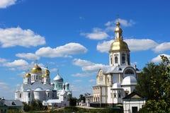 Serafijn van Sarov in het Heilige klooster van Drievuldigheids serafijn-Diveevo in Diveevo, Rusland Stock Afbeeldingen