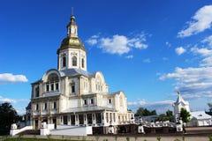 Serafijn van Sarov in het Heilige klooster van Drievuldigheids serafijn-Diveevo in Diveevo, Rusland Royalty-vrije Stock Foto's