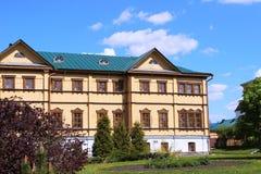 Serafijn van Sarov in het Heilige klooster van Drievuldigheids serafijn-Diveevo in Diveevo, Rusland Royalty-vrije Stock Afbeeldingen
