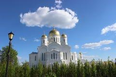 Serafijn van Sarov in het Heilige klooster van Drievuldigheids serafijn-Diveevo in Diveevo, Rusland Royalty-vrije Stock Afbeelding