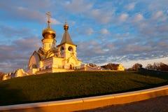 Serafim Sarovsky Cathedral in Khabarovsk, Russia Stock Images