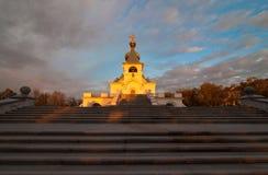 Serafim Sarovsky Cathedral in Khabarovsk, Russia Stock Photo