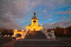 Serafim Sarovsky Cathedral in Khabarovsk, Russia Royalty Free Stock Image