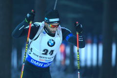 Serafin Wiestner - biathlon Stock Afbeelding