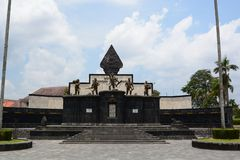 Serangan Umum 1 Maret 1949 monument. Yogyakarta. Java. Indonesia. The General Offensive of 1 March 1949 was a military offensive during the Indonesian National royalty free stock photos