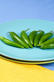 Serano Peppers Royalty Free Stock Photo