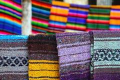 serape картины одеяла цветастое мексиканское стоковое изображение rf