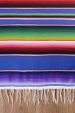 Мексиканское одеяло serape Стоковая Фотография RF