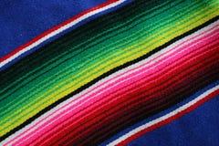 Serape mexicano Imagen de archivo libre de regalías
