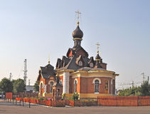 Seraph church in Alexandrov town, Russia Stock Images