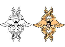 Seraphim wings Stock Image