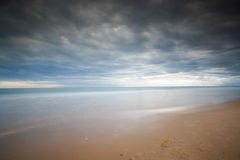 serapo gaeta пляжа Стоковое Фото