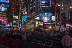 Serata di inaugurazione di Metropolitan Opera in NYC Fotografia Stock Libera da Diritti