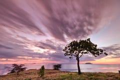 Seraya Island, Indonesia Stock Photo