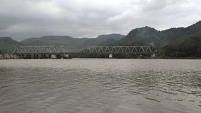 Serayu河 免版税库存照片
