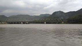 Serayu flod royaltyfria foton