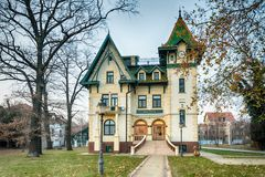 Serb-ungrare arkitektur i Vojvodina arkivbilder