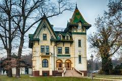 Serb-ungrare arkitektur i Vojvodina arkivfoto