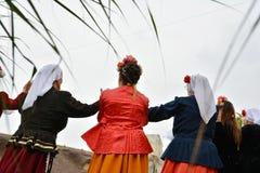 ` Serbare Campeneasca ` в Visina, Tulcea, Румынии стоковое изображение