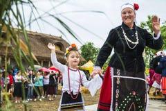 ` Serbare Campeneasca ` in Visina, Tulcea, Roemenië royalty-vrije stock afbeeldingen